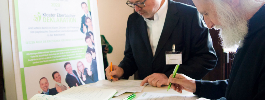 Einhorn Beratung Unterzeichnung
